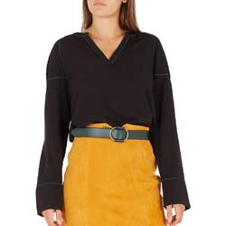 Vêtements Femme T-shirts manches longues Vila 14055117 Noir