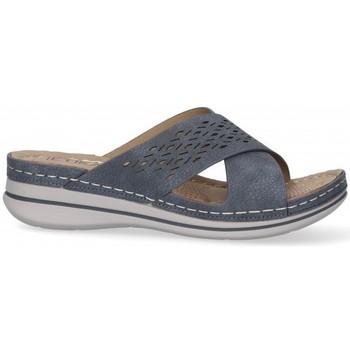 Chaussures Femme Mules Etika 52659 bleu