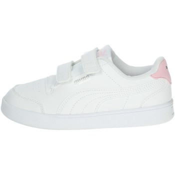 Chaussures Fille Baskets basses Puma 375689 Blanc/rose