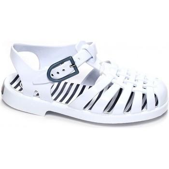 Chaussures Fille Andrew Mc Allist Méduse Sandales aquatiques bébé SUNRAY Blanc