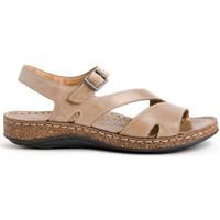 Chaussures Femme Sandales et Nu-pieds Walk & Fly 3861-35580 Beige