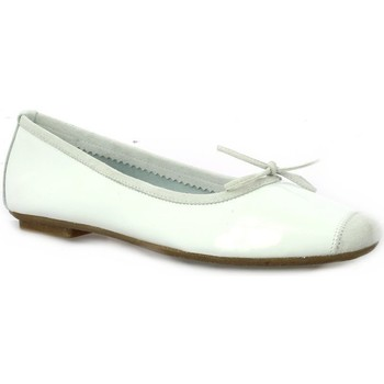 Chaussures Femme Ballerines / babies Reqin's Ballerines cuir vernis Blanc