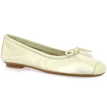 Chaussures Femme Ballerines / babies Reqin's Ballerines cuir laminé Platine