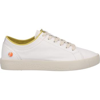 Chaussures Femme Baskets basses Softinos Sneaker Weiß/Gelb