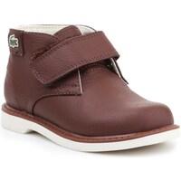 Chaussures Enfant Boots Lacoste 730SPI301177T Marron