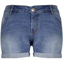 Vêtements Femme Shorts / Bermudas Deeluxe Short CASSANDRE Light Blue Denim