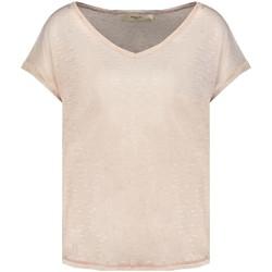 Vêtements Femme T-shirts manches courtes Deeluxe T-Shirt CINDY Light Pink