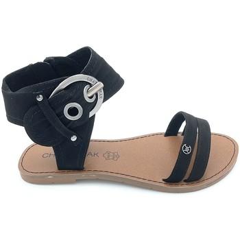 Chaussures Femme Sandales et Nu-pieds Chattawak Nu-Pieds 9-Pacome Noir Noir