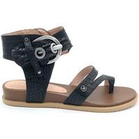 Chaussures Femme Brett & Sons Chattawak Nu-Pieds 11-RUDY NOIR Noir