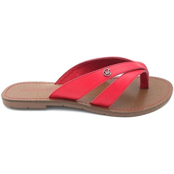 Chaussures Femme Tongs Chattawak Tong 11-KALINDA ROUGE Rouge