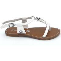 Chaussures Femme Sandales et Nu-pieds Chattawak Sandale 11-ZHOE Blanc Blanc