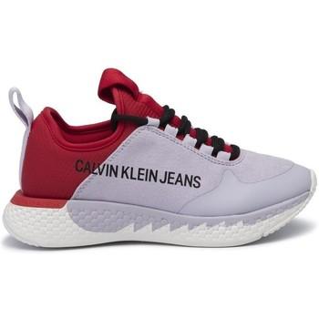 Chaussures Femme Baskets basses Calvin Klein Jeans - sneakers - rouge violet violet