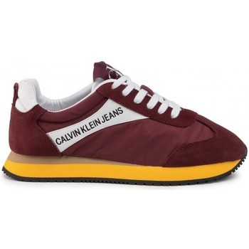 Chaussures Homme Baskets basses Calvin Klein Jeans - Sneakers - rouge jaune Rouge