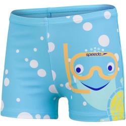 Vêtements Garçon Maillots / Shorts de bain Speedo  Bleu / jaune