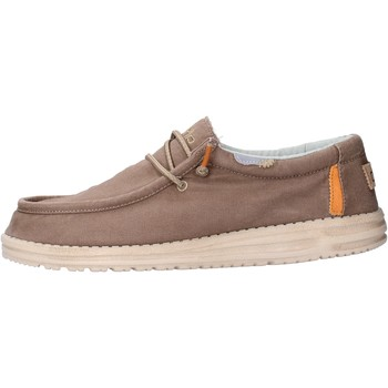 Chaussures Homme Mocassins Hey Dude - Sneaker marrone WALLYWASHED0551 MARRONE