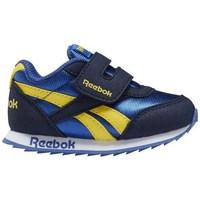 Chaussures Garçon Baskets basses Reebok Sport Royal CL Jogger Bleu, Jaune, Bleu marine