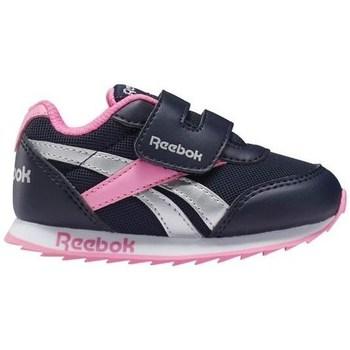 Chaussures Fille Baskets basses Reebok Sport Royal CL Jogger Noir, Argent, Rose