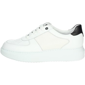 Chaussures Homme Baskets montantes Exton 956 Blanc