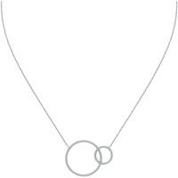 Montres & Bijoux Colliers / Sautoirs Arbelo Collier  en Argent 925/1000 et Oxyde Blanc