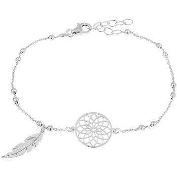 Montres & Bijoux Bracelets Tipy Bracelet  en Argent 925/1000 Gris