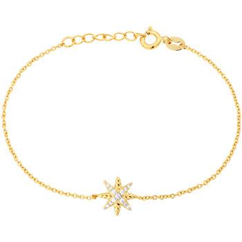 Montres & Bijoux Femme Bracelets Solis Bracelet  en Argent 925/1000 Jaune et Oxyde Jaune