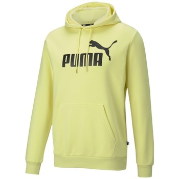 Vêtements Homme Vestes de survêtement Puma Essentials Big Logo Hoodie Jaune