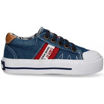 Chaussures Garçon Baskets basses Lois 55048 bleu