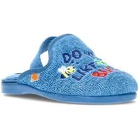 Chaussures Garçon Chaussons bébés Vulladi GO BY HOUSE SERVIETTE POUR ENFANT 4102 BLEU