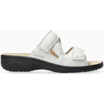 Chaussures Femme Mules Mephisto Mule cuir GEVA Blanc