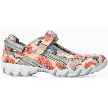 Chaussures Femme Tennis Mephisto Basket textile NIRO Orange