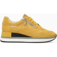 Chaussures Femme Baskets basses Mephisto Baskets cuir OLIMPIA Jaune