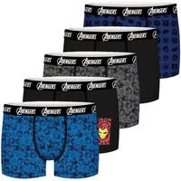 Sous-vêtements Garçon Boxers Avengers Lot de 5 Boxers coton garçon Noir