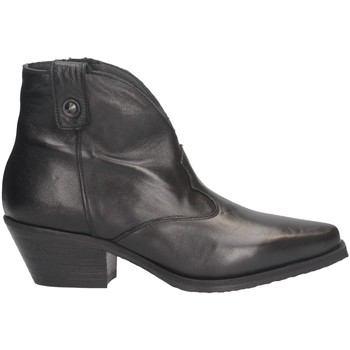 Chaussures Femme Boots Metisse DX109 Texano Femme NOIR NOIR