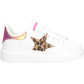 Chaussures Femme Baskets basses Shop Art SA050106 BLANC / FUCHSIA