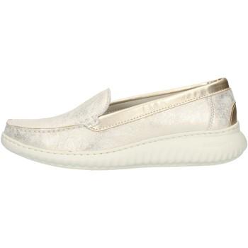 Chaussures Femme Mocassins Notton 3117 Platine