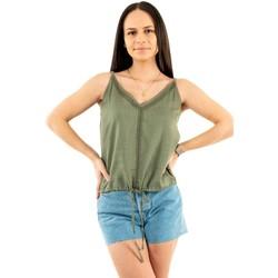 Vêtements Femme Débardeurs / T-shirts sans manche Freeman T.Porter lara f792khaki vert