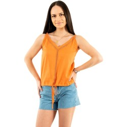 Vêtements Femme Débardeurs / T-shirts sans manche Freeman T.Porter lara f954sun orange