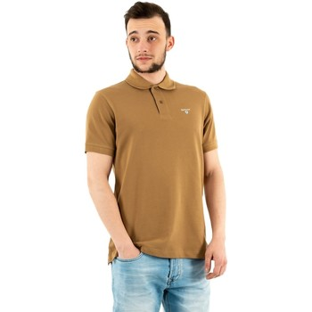 Vêtements Homme Polos manches courtes Barbour mml0012 sn31 sandstone beige
