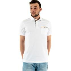 Vêtements Homme Polos manches courtes Barbour corpatch wh11 white blanc