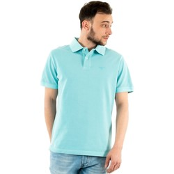 Vêtements Homme Polos manches courtes Barbour mml1127 aq12 aqua marine bleu