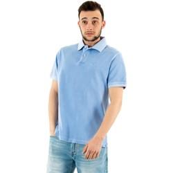 Vêtements Homme Polos manches courtes Barbour mml1127 bl32 sky bleu