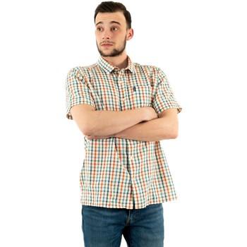 Vêtements Homme Chemises manches courtes Barbour msh4943 aq51 aqua bleu