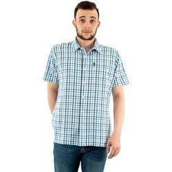Vêtements Homme Chemises manches courtes Barbour msh4943 bl53 inky blue bleu