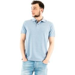 Vêtements Homme Polos manches courtes Barbour mml0012 bl55 sky marl/dress bleu