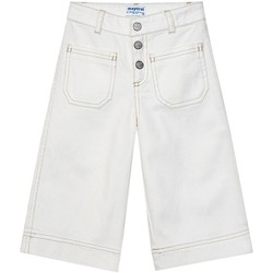 Vêtements Fille Pantalons Mayoral  Blanco