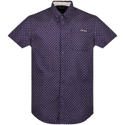 Vêtements Homme Chemises manches courtes Deeluxe Chemise DAXXO Navy