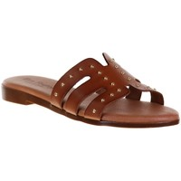 Chaussures Femme Mules Eva Frutos 9177 Camel