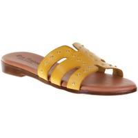 Chaussures Femme Mules Eva Frutos 9177 Jaune