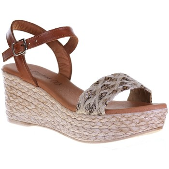 Chaussures Femme Sandales et Nu-pieds Eva Frutos 1691 Beige