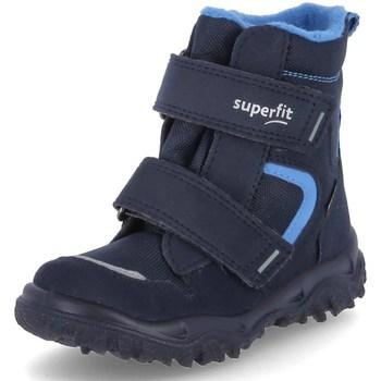 Chaussures Garçon Bottes de neige Superfit Husky 1 Bleu